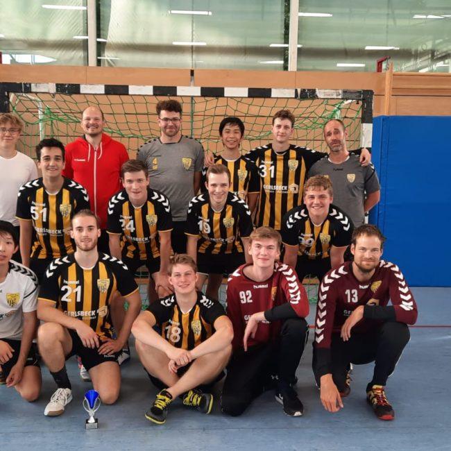 Die Herrenmannschaften der Handball-Füchse Scheyern beim Fuchs-Cup 2021