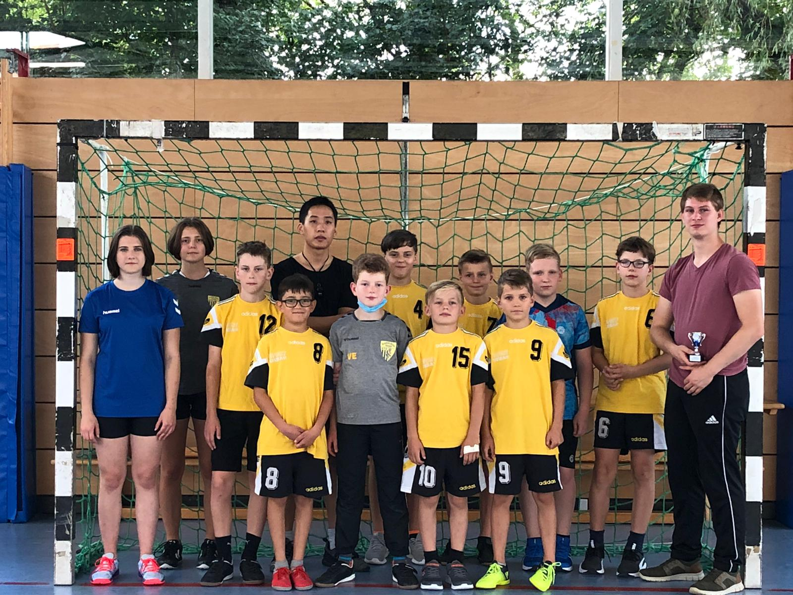 Die männliche D-Jugend beim Fuchs-Cup 2021